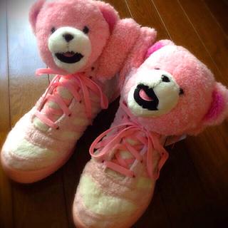 アディダス(adidas)のjeremy × adidas  くま靴(スニーカー)