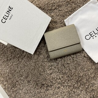 celine - CELINEフラップ コンパクト財布