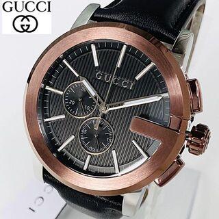 Gucci - 【新商品】定価25万 GUCCIグッチ G-タイムレス 新品 メンズ腕時計レザー