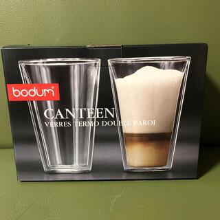 ボダム(bodum)のbodum CANTEEN ボダム 400ml グラス 1個のみ(グラス/カップ)