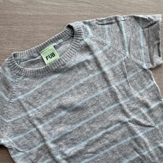 コドモビームス(こどもビームス)のFUB 半袖 ニットトップス 100サイズ(Tシャツ/カットソー)