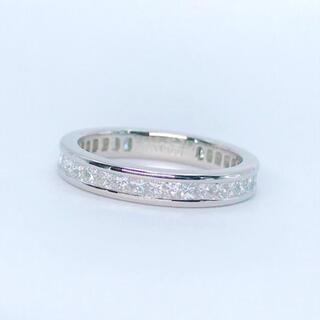 セイコー(SEIKO)の1.00ct フルエタニティ プリンセス セイコー ダイヤリング PT900(リング(指輪))