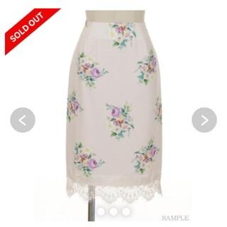 ノエラ(Noela)のノエラ 花柄スカート(ひざ丈スカート)