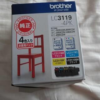 brother  ブラザー  LC3119-4PK 【純正】 インクカートリッジ