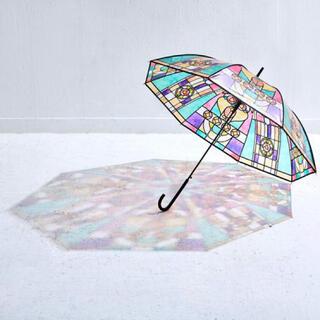 フェリシモ(FELISSIMO)のフェリシモ 広げればあこがれの世界 大正ロマンなステンドグラスの傘(傘)