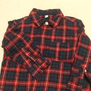 ムジルシリョウヒン(MUJI (無印良品))のネルシャツ 90(ブラウス)