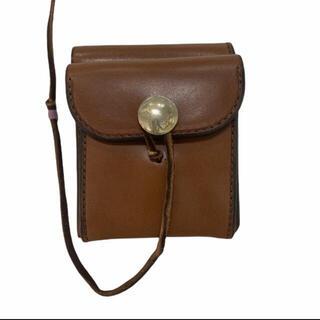 ゴローズ(goro's)の《新品》ゴローズ(goro's)縦型二つ折り財布(焦茶)(折り財布)