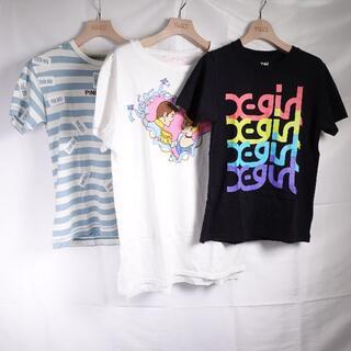エックスガール(X-girl)のPINK HOUSE/BUBBLES/X-girl Tシャツ レディース (Tシャツ(半袖/袖なし))