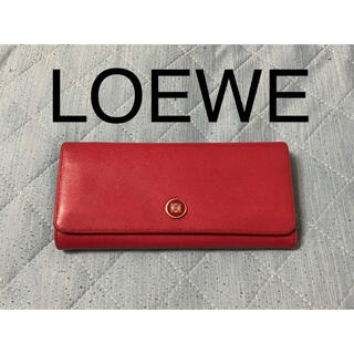 LOEWE - 【再値下げ】LOEWE  アナグラム レザー長財布【早い者勝ち】