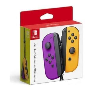 Nintendo Switch - 任天堂 スイッチJoy-Con ネオンパープル ネオンオレンジ