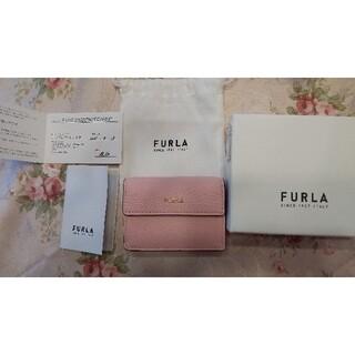 Furla - FURLA ミニ財布 ピンク カーフスキン 新品未使用品