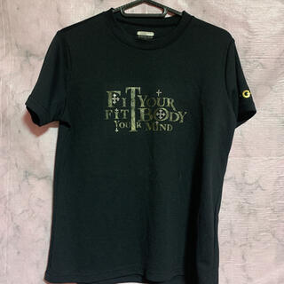 ゴールドウィン(GOLDWIN)の黒Tシャツ ジムウェア(Tシャツ(半袖/袖なし))