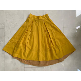 アクアガール(aquagirl)のaquagirl フレア スカート(ひざ丈スカート)