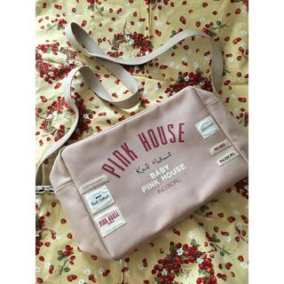 PINK HOUSE - ピンクハウス ロゴショルダーバッグ ピンク色
