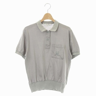 クリスチャンディオール(Christian Dior)のクリスチャンディオール SPORTS ヴィンテージ ロゴ刺繍 ポロシャツ(ポロシャツ)