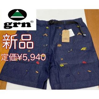 grn  ショートパンツ メンズ Lサイズ EMBROIDERY SHORTS
