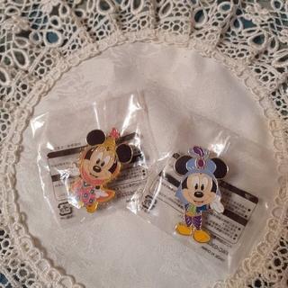 Disney - ◆ミッキーマウス&ミニーマウス◆非売品 ピンバッチ 2個セット アブーズバザール
