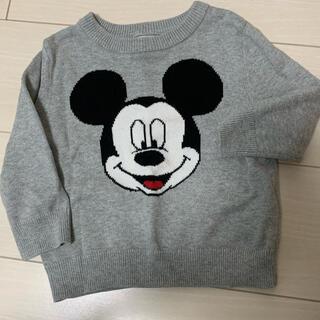 ニット セーター ミッキーマウス Disney GAP 80cm ベビー 秋冬