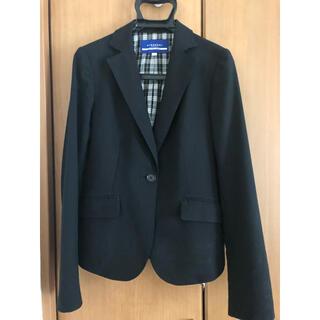 バーバリーブルーレーベル(BURBERRY BLUE LABEL)のバーバリーブルーレーベル♡ジャケット バーバリー スーツ  黒(テーラードジャケット)