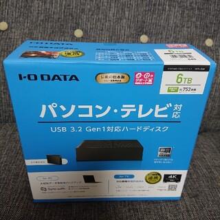 IODATA - 【新品】I/O DATA HDCX-UTL6K (USB3.2 外付HDD 6T