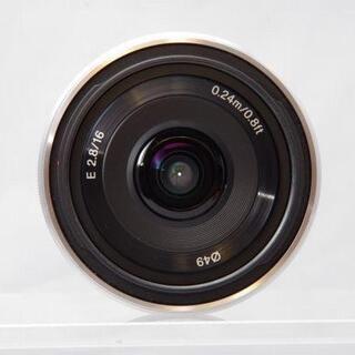 SONY - SONY 16mm F2.8 E mount SEL16F28