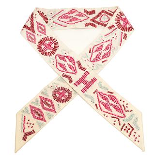 エルメス(Hermes)のエルメス  スカーフ  ツイリー   ベージュ(スカーフ)