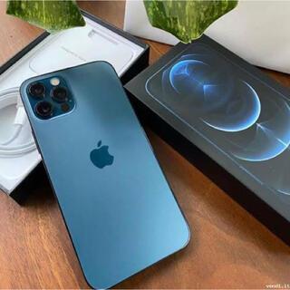 アイフォーン(iPhone)のiPhone12pro 256GB パシフィックブルー SIMフリー 本体(スマートフォン本体)