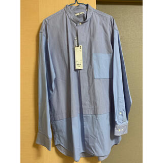 UNIQLO - スーピマコットンオーバーサイズシャツ +J ジルサンダー 新品 UNIQLO