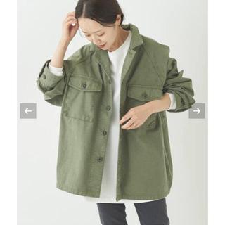 Plage - plage Army シャツジャケット