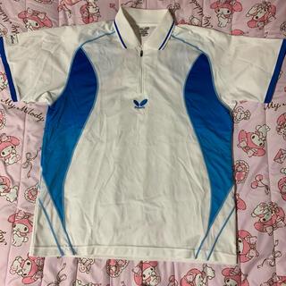バタフライ(BUTTERFLY)の卓球 バタフライ ユニフォームシャツ XOサイズ(卓球)