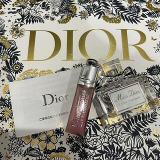 Dior - Dior クリスマス2021 【新品未使用】ミニ香水&ミニリップグロス セット