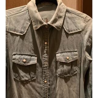 ローズバッド(ROSE BUD)のローズバット ロングシャツ ダンガリーシャツ(シャツ/ブラウス(長袖/七分))