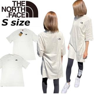 THE NORTH FACE - ノースフェイス Tシャツ ドレス  ワンピース ヴィンテージホワイト S