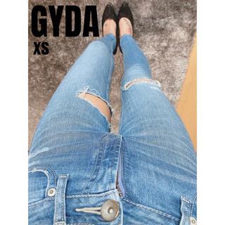 ジェイダ(GYDA)のGYDA M/Wインナーハイリップドスキニーデニム xs(スキニーパンツ)