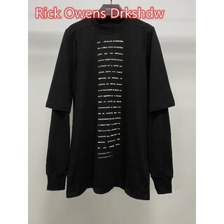 リックオウエンス(Rick Owens)のRick Owens Drkshdw -108497(Tシャツ/カットソー(七分/長袖))