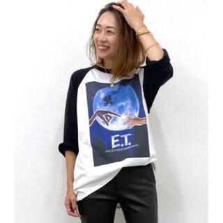 ドゥーズィエムクラス(DEUXIEME CLASSE)のSOUTH FOR F/サウス フォー エフ ETラグランスリーブTシャツ(Tシャツ/カットソー(七分/長袖))