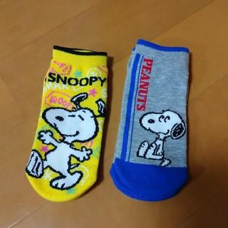 スヌーピー(SNOOPY)のスヌーピー ソックス 2足(靴下/タイツ)