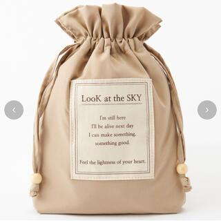 しまむら - しまむら yumiコラボ 巾着ポーチ アイボリー オンライン限定 完売品