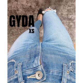 ジェイダ(GYDA)のGYDA BACK RIPPED ストスリデニムパンツ xs(スキニーパンツ)