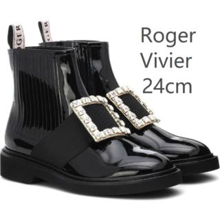 ROGER VIVIER - Roger Vivier ロジェ ヴィヴィエ ブーツ レディース 24CM