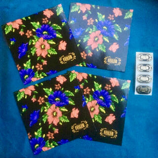 フェイラー(FEILER)のフェイラー FEILER ギフト袋 ギフトバッグ シール 4枚セット 袋とシール(ショップ袋)