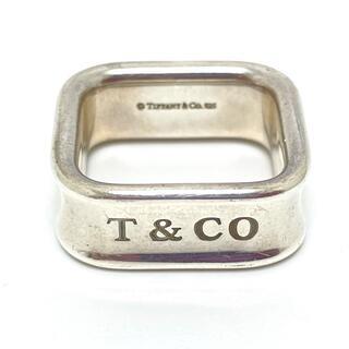 Tiffany & Co. - ティファニー 1837 スクエア リング アクセサリー リング・指輪 シルバー