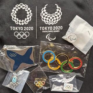 オリンピック 五輪 パラリンピック スリーアギトス ピンバッジ キーホルダー