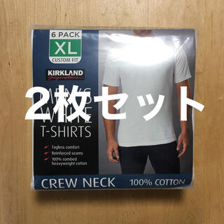 コストコ(コストコ)の【新品・送料込み】カークランド メンズクルーネックTシャツ XL [2枚セット](Tシャツ/カットソー(半袖/袖なし))