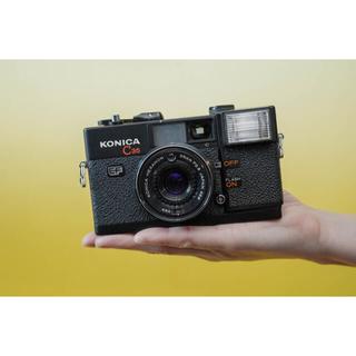 コニカミノルタ(KONICA MINOLTA)の【動作品】Konica C35 EF マットブラックの人気機種(フィルムカメラ)