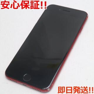 アイフォーン(iPhone)の良品中古 SIMフリー iPhone8 256GB レッド (スマートフォン本体)