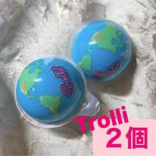 正規品トローリ地球グミ2個 お菓子 韓国 ASMR Gummi Trolli(菓子/デザート)
