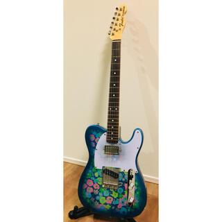 フェンダー(Fender)の値引可能【ほぼ新品】TL69 BlueFlower  fender(エレキギター)