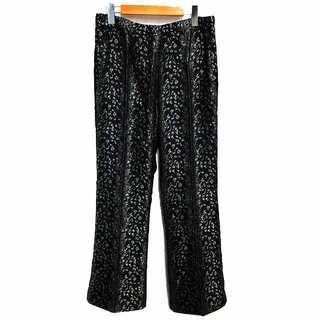 Needles - ニードルス 21SS 美品 ブーツカットパンツ ジャカード生地 レオパード柄