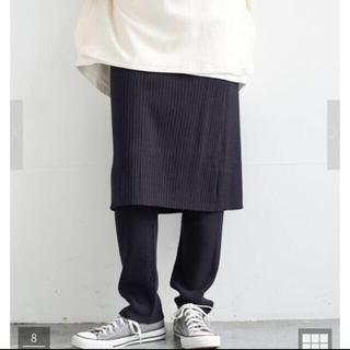 トゥデイフル(TODAYFUL)の新品 アメリカンホリック レギンス付きニットスカート 定価5980(レギンス/スパッツ)